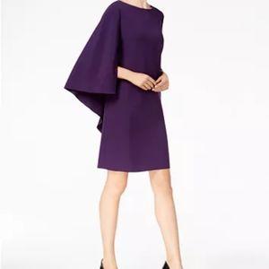 Anne Klein Cape Shift Dress